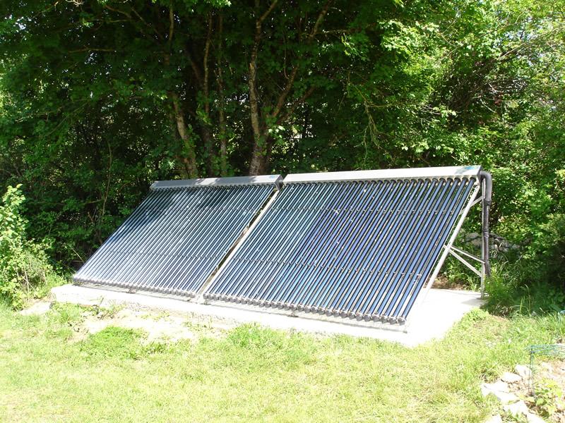 Sun elec 46 solaire thermique eau chaude sanitaire et for Panneau solaire piscine